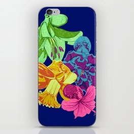 Octopus Flower Garden iPhone Skin