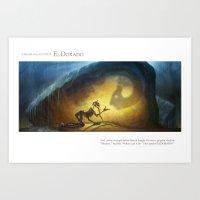 EL DORADO pt.3 Art Print