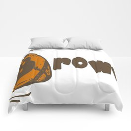 Downtown Browns Comforters