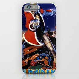 iron christmas maiden 2020 tokaug iPhone Case