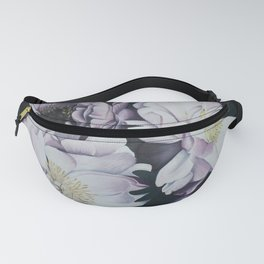 Pink and Purple Peonies Fanny Pack