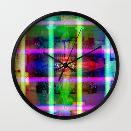 Enfocados excesivamente en la cruz y no en la luz. [RGB] Wall Clock