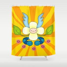 Finn's Food Chain Shower Curtain
