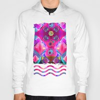 diamonds Hoodies featuring Diamonds by thea walstra