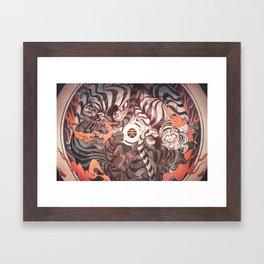 Strife Framed Art Print