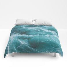 Electric Ocean Comforters