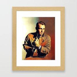 Alan Ladd, Actor Framed Art Print