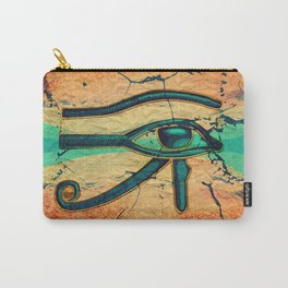 Egyptian Eye of Horus - Ra Carry-All Pouch