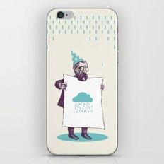 It's raining. iPhone & iPod Skin