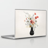 poppies Laptop & iPad Skins featuring Poppies by Kelli Murray