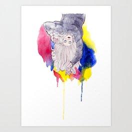 Shaggy Sweater Sundays Art Print