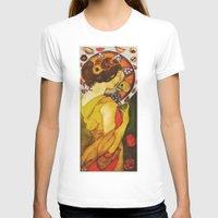 mucha T-shirts featuring My Mucha by Mara Valladares