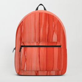 #027 - Monochrome Ink in Orange Backpack