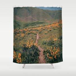 Floral Walks II Shower Curtain