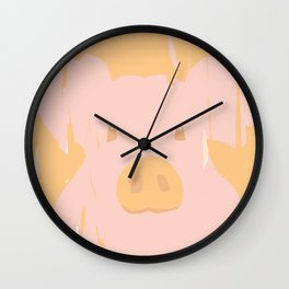 Little piglet Wall Clock