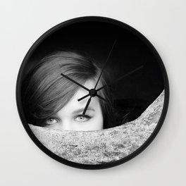 Hide 'n Seek Wall Clock