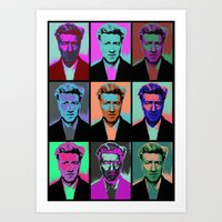 popart Art Prints featuring Different popart by Renars