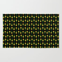 Pineapple Attack Rug