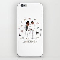 treat yo self iPhone & iPod Skins featuring Treat Yo Self by Tyler Feder