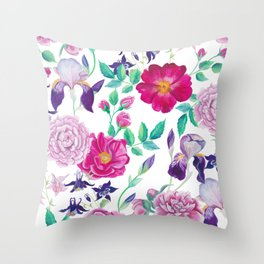 Florabotanica Throw Pillow