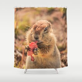 Have a smile for breakfast Shower Curtain