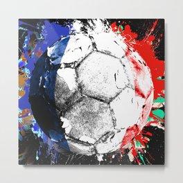 football France Metal Print