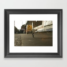 DIKKI - StreetPark series one Framed Art Print
