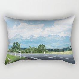 High Tatras Mountains Rectangular Pillow