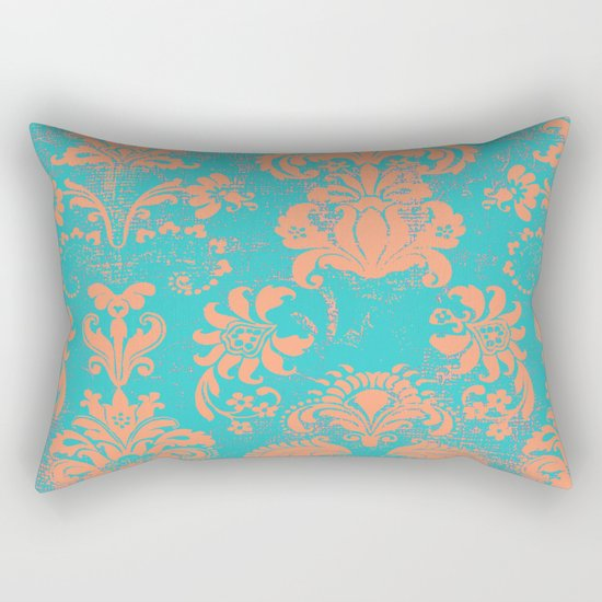 coral breeze Rectangular Pillow