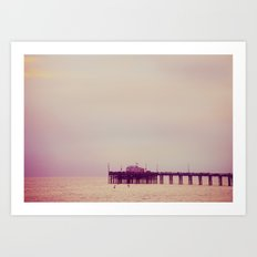 Over the ocean Art Print