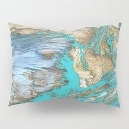 Woody Water Pillow Sham