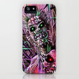 Stitches and Skin iPhone Case
