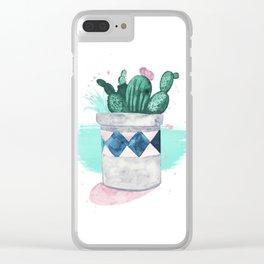 Indoor Plants Clear iPhone Case