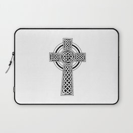 Celtic Knot Cross Tattoo Laptop Sleeve