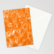 Orange Water Stationery Cards