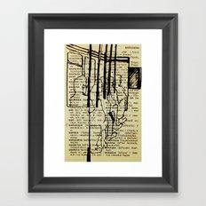 Bus series - 2 Framed Art Print