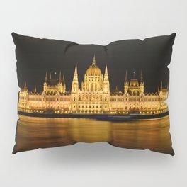 Hungarian Parliament Pillow Sham