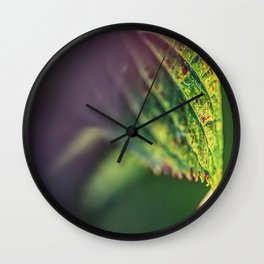 An accent tone Wall Clock