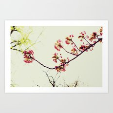 Reaching Art Print