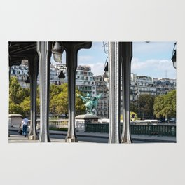 Pont de Bir-Hakeim in Paris Rug