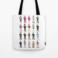 bill Tote Bags featuring Murrays by Derek Eads