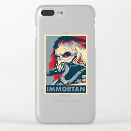 "Immortan Joe ""Hope"" Poster Clear iPhone Case"