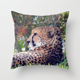 Nap Preparation Throw Pillow