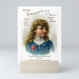 Ayers How Fair She Grows Vintage Advertising Mini Art Print