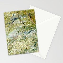 River Bank in Springtime Stationery Cards