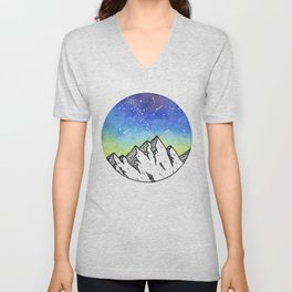 Blue Skies Unisex V-Neck