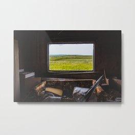 View from the Yellow House, Arena, North Dakota 1 Metal Print