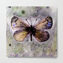 Butterfly Prayers No. 1C by Kathy Morton Stanion Metal Print