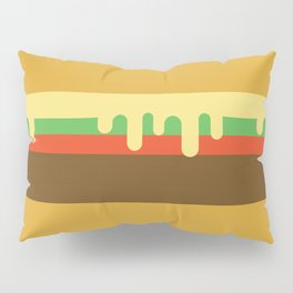Hamburger Pillow Sham