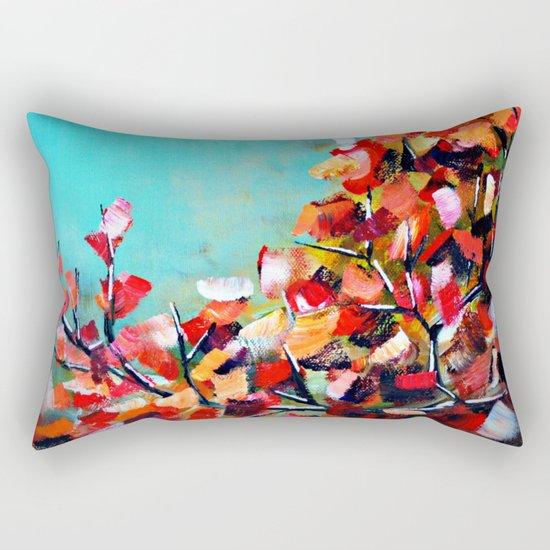 Fall Leaves Rectangular Pillow